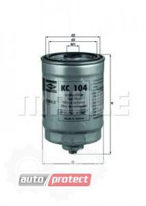 Фото 1 - MAHLE KC 104 фильтр топливный