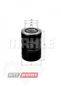 Фото 1 - MAHLE KC 171 фильтр топливный