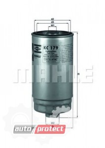 Фото 1 - MAHLE KC 179 фильтр топливный