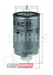 Фото 1 - MAHLE KC 17D фильтр топливный