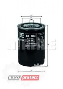 Фото 1 - MAHLE KC 183 фильтр топливный