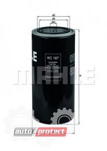 Фото 1 - MAHLE KC 187 фильтр топливный