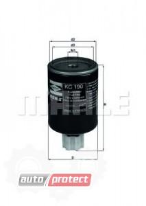 Фото 1 - MAHLE KC 190 фильтр топливный