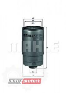 Фото 1 - MAHLE KC 195/1 фильтр топливный