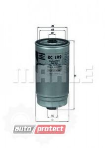 Фото 1 - MAHLE KC 199 фильтр топливный