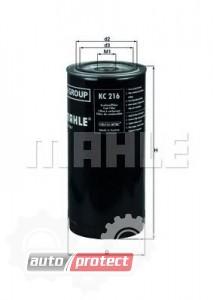 Фото 1 - MAHLE KC 216 фильтр топливный