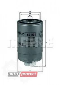 Фото 1 - MAHLE KC 221 фильтр топливный