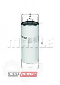 Фото 1 - MAHLE KC 300 фильтр топливный