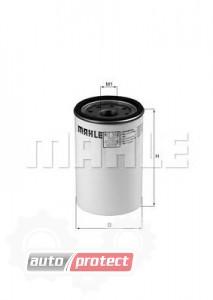 Фото 1 - MAHLE KC 362D фильтр топливный