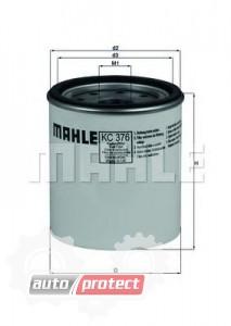 Фото 1 - MAHLE KC 376D фильтр топливный