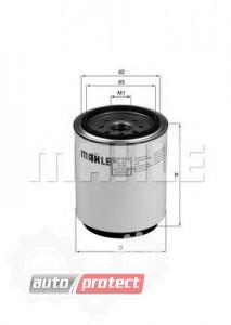Фото 1 - MAHLE KC 377D фильтр топливный