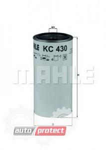 Фото 1 - MAHLE KC 430D фильтр топливный