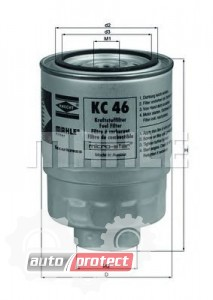 Фото 1 - MAHLE KC 46 фильтр топливный