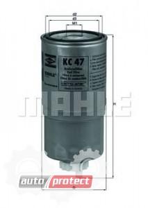 Фото 1 - MAHLE KC 47 фильтр топливный