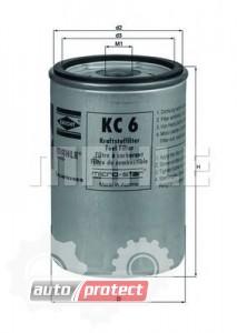 Фото 1 - MAHLE KC 6 фильтр топливный