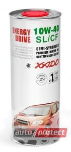 Фото 2 - XADO Atomic OIL 10W-40 SL/CF Полусинтетическое моторное масло