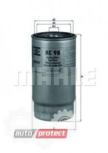 Фото 1 - MAHLE KC 98 фильтр топливный