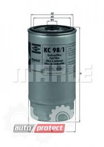 Фото 1 - MAHLE KC 98/1 фильтр топливный