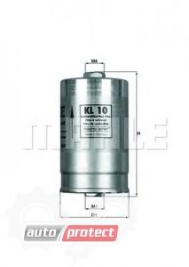 Фото 1 - MAHLE KL 10 фильтр топливный