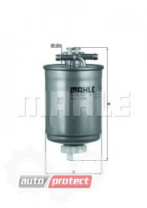 Фото 1 - MAHLE KL 103 фильтр топливный