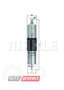 Фото 1 - MAHLE KL 104/1 фильтр топливный