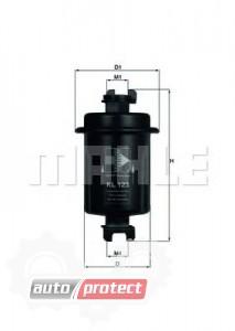 Фото 1 - MAHLE KL 123 фильтр топливный