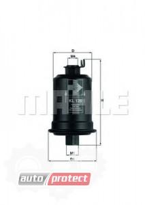 Фото 1 - MAHLE KL 129 фильтр топливный