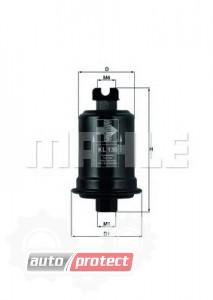 Фото 1 - MAHLE KL 130 фильтр топливный