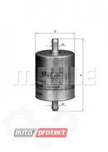 Фото 1 - MAHLE KL 145 фильтр топливный