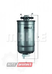 Фото 1 - MAHLE KL 147/1D фильтр топливный