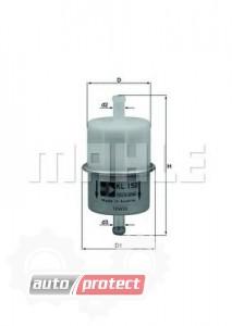 Фото 1 - MAHLE KL 150 фильтр топливный