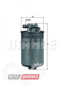 Фото 1 - MAHLE KL 154 фильтр топливный