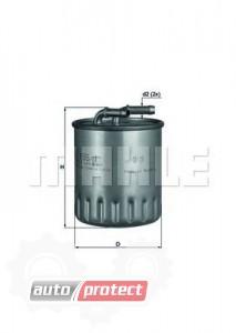 Фото 1 - MAHLE KL 155/1 фильтр топливный