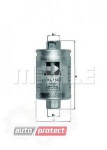 Фото 1 - MAHLE KL 158 фильтр топливный