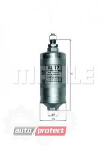 Фото 1 - MAHLE KL 17 фильтр топливный