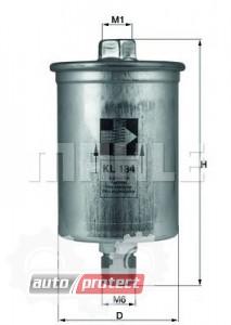 Фото 1 - MAHLE KL 184 фильтр топливный