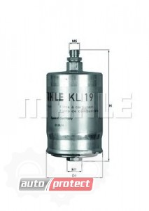Фото 1 - MAHLE KL 19 фильтр топливный