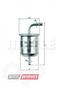 Фото 1 - MAHLE KL 202 фильтр топливный