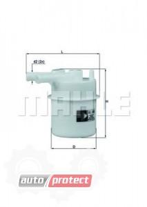Фото 1 - MAHLE KL 206 фильтр топливный