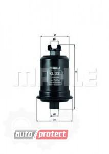 Фото 1 - MAHLE KL 231 фильтр топливный