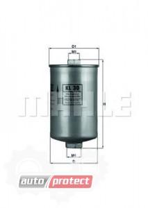 Фото 1 - MAHLE KL 30 фильтр топливный