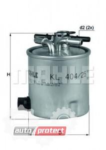Фото 1 - MAHLE KL 404/25 фильтр топливный