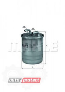Фото 1 - MAHLE KL 490/1D фильтр топливный