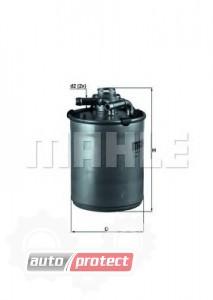 Фото 1 - MAHLE KL 497D фильтр топливный