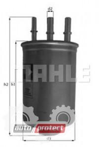 Фото 1 - MAHLE KL 511 фильтр топливный