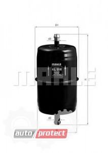 Фото 1 - MAHLE KL 558 фильтр топливный