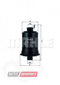 Фото 1 - MAHLE KL 560 фильтр топливный