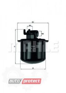 Фото 1 - MAHLE KL 561 фильтр топливный