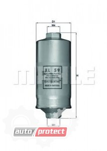 Фото 1 - MAHLE KL 59 фильтр топливный