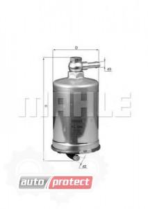 Фото 1 - MAHLE KL 599 фильтр топливный